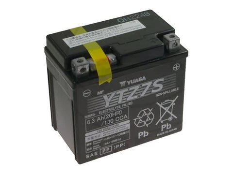 battery Yuasa Gel YTZ7S WET MF maintenance free