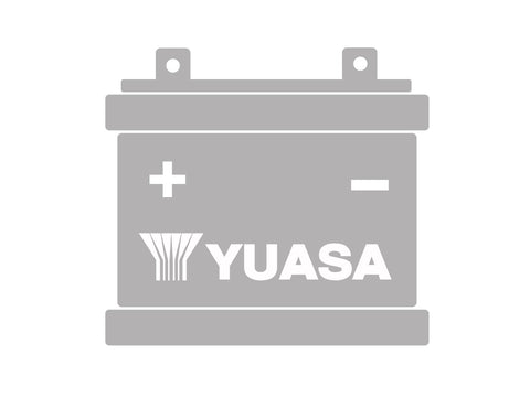 battery Yuasa B49-6 w/o acid pack