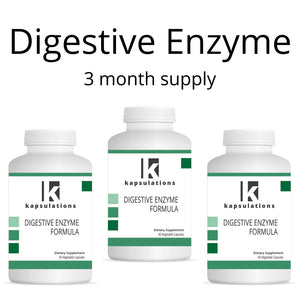 Digestive Enzyme Three Month Supply