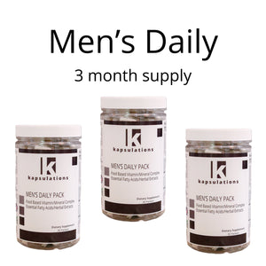 Men's Daily Pack Three Month Supply