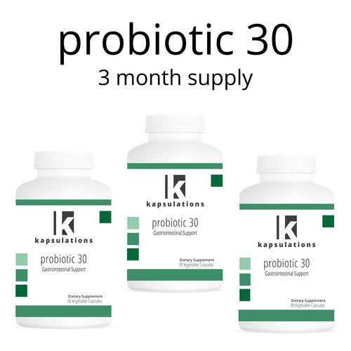 Probiotic 30 Three Month Supply