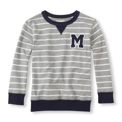 "BOYS ""M ""SWEAT SHIRT BY CHILDREN PLACE"