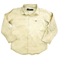 BOYS CASUAL PRINTED SHIRT | MARKHOR-(1Y-12Y)