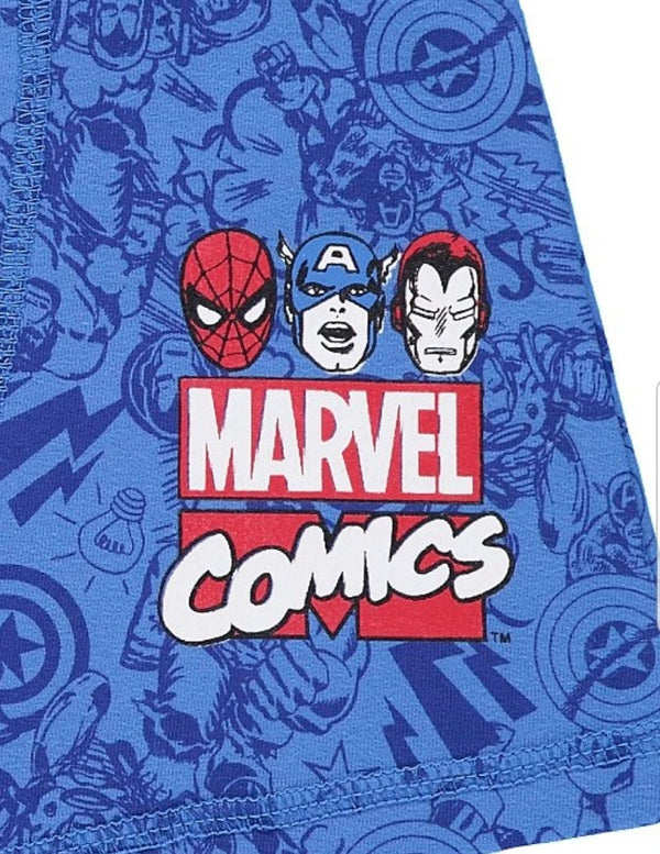 BOY'S MARVEL BOXER PACK OF 3 -(3Y-12Y)