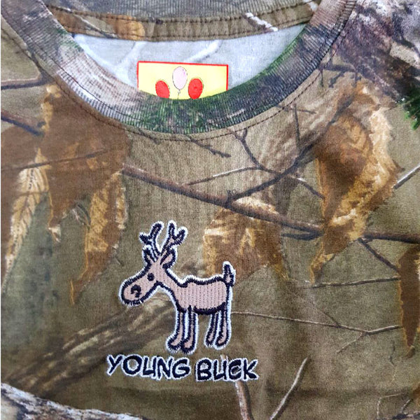 BOY'S YOUNG BUCK T-SHIRT | LIL JOEY-(12M-4Y)