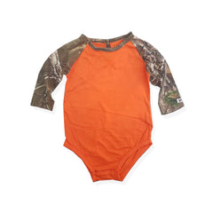 BOY'S REALTREE FULL  SLEEVES ROMPER |FIELD & STREAM-(0M-24M