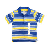 BOY'S STRIPPED PIQUE POLO | OLD NAVY-(18M-5Y)