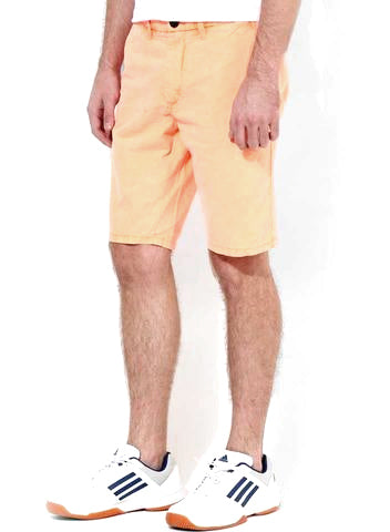 MEN'S DUDES JJ ORANGE JEANS SHORT | JACK & JONES