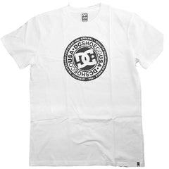 MEN'S ATHLETIC SKATEBOARD TEE WHITE | DCSHOE