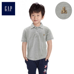 BOYS TEDDY BEAR LOGO POLO | GP (12M-5YRS)
