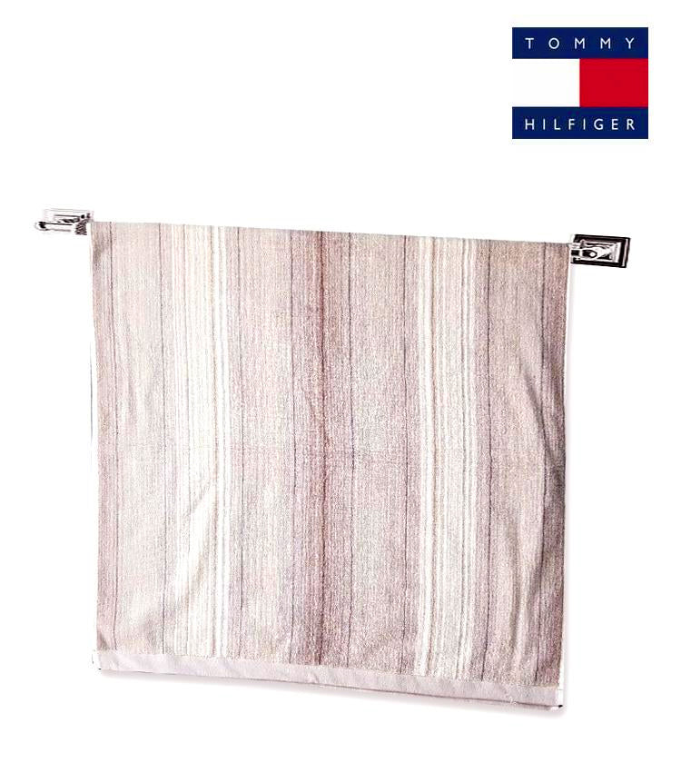 STRIPED TEXTURE BATH TOWEL | TOMMY HILFIGER