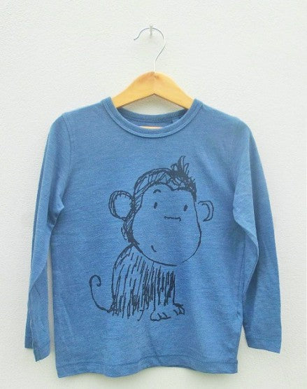 BOYS MONKEY TEE BY NEXT (3M-6 YRS)