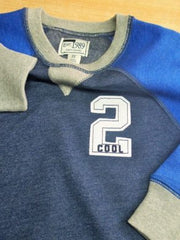 "BOYS ""COOL""SWEAT SHIRT BY CHILDREN PLACE(6M-5YEARS)"