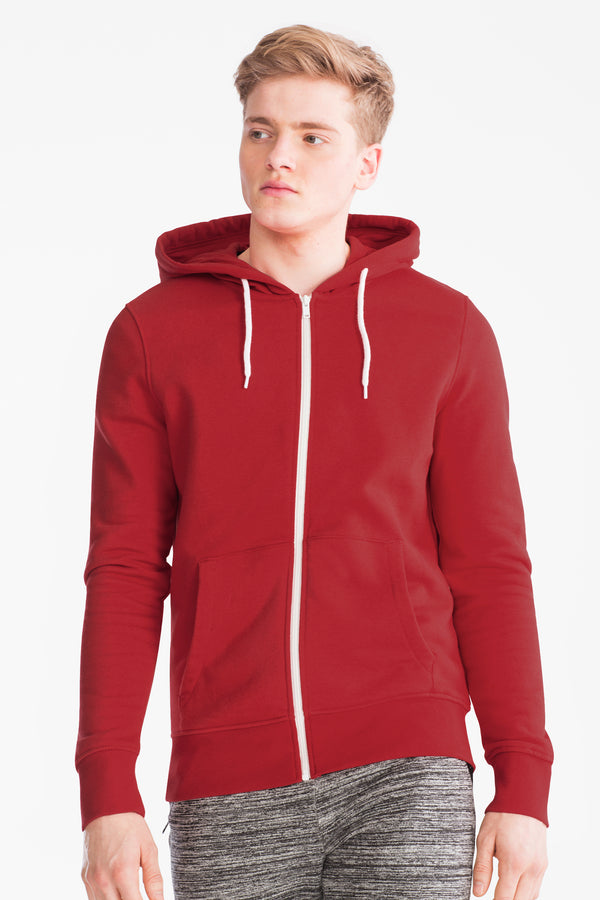 MEN'S ZIP THROUGH HOODIE | CKH