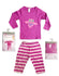 GIRL'S BIRD NIGHT SUITE SET | BABYBOW-(6M-3Y)