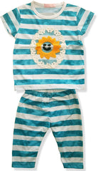 GIRL'S SUNSHINE OF MY LIFE SET-S GREEN |MARKHOR