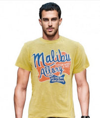 MALIBU PRINT T-SHIRT IN 100% COTTON BY OVS (ITALIAN BRAND)