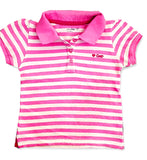 GIRL'S STRIPED PIQUE POLO | GAP-(12M-5Y)