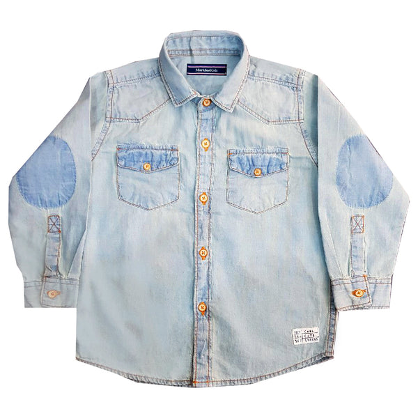 BOYS COOL DENIM SHIRT | MARKHOR-(1Y-12Y)