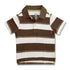 BOY'S WHTIE BROWN POLO | ON-(12M-5Y)