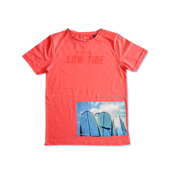 BOY'S GRAPHIC PRINTED T-SHIRT | TOM TAILOR-(8Y-16Y)