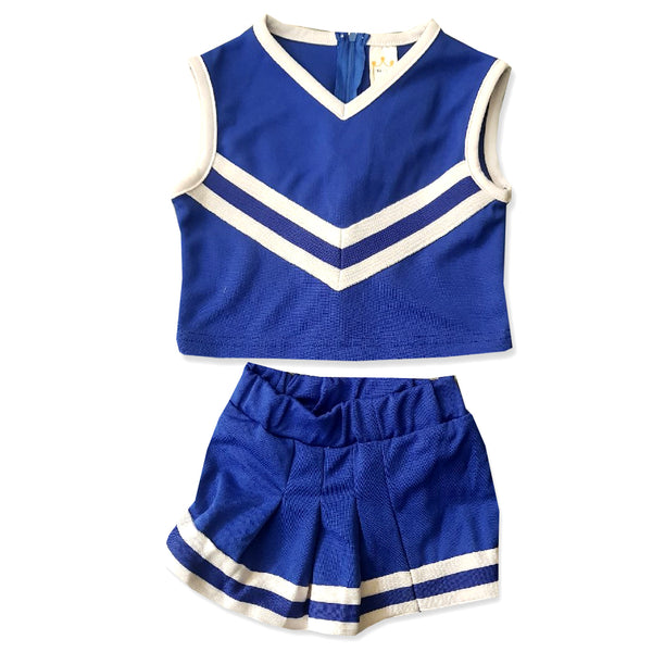 GIRL'S STRIPED TRIANGLE  SET | LITTLE KING-(3Y-8Y)