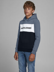 BOY'S LOGO SWEAT HOODIE | JACK & JONES