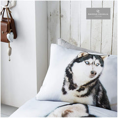 HUSKY SINGLE DUVET COVER & PILLOWCASE SET | WILD@HEART