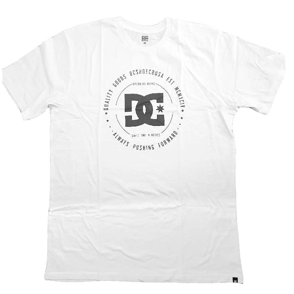 MEN'S BREAKING HEADS TEE WHITE | DCSHOE
