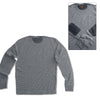 MEN'S ELBOW PATCH CHARCOOL SWEATER | FOOT LOCKER