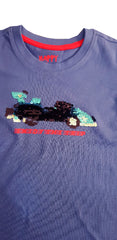 UNISEX ENJOY THE TRIP REVERSE SEQUIN T_SHIRT | HAPPY KIDS-(3Y-9Y)