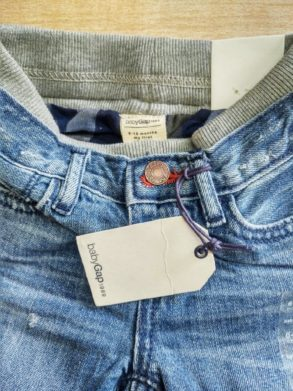 BABY GAP 1969 INNER LINED JEANS BY GAP (0-24)M