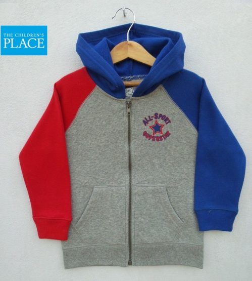 BOYS ALL STAR HOOD BY CHILDREN PLACE (6M-5Y)