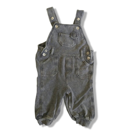 BOYS BODYSUIT BY PUMPKIN PATCH (3-18 M) CHARCOAL