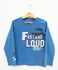 BOYS FAST AND LOUD MOTOR TEE BY OVS (3-9 YRS )