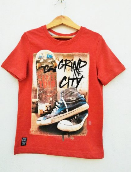 BOYS GRIND THE CITY TEE BY C&A (7-14YRS)
