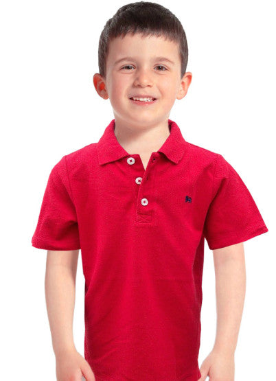 BOYS LION LOGO POLO BY OLD NAVY (2-5YRS)
