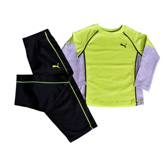 BOYS PUMA 2-PIECE SET (12M-5Y)