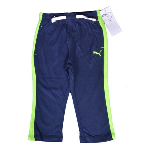 BOYS PUMA SUMMER TROUSER ( 3-24M )BLUE-GREEN