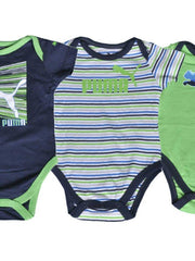 BOYS ROMPER PUMA 2 PACK OF 3