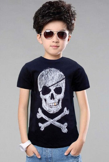 BOYS SKELETON TEE BY H&M (1.5-8YRS) IMPORTED