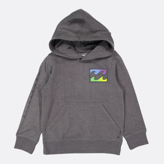 BOYS STICKER WAVE POP HOOD BILLABONG -CHAR(0-16)Y