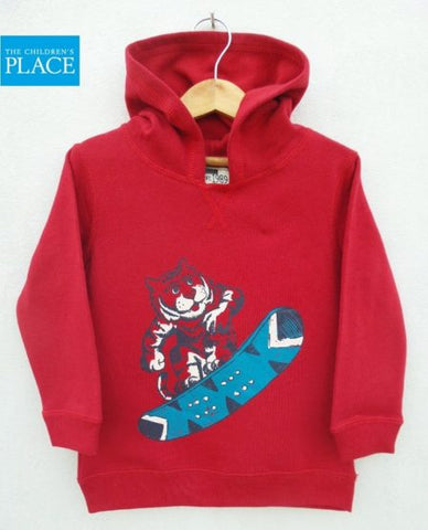 BOYS TIGER SKI HOOD BY CHILDREN PLACE (9M-5Y)