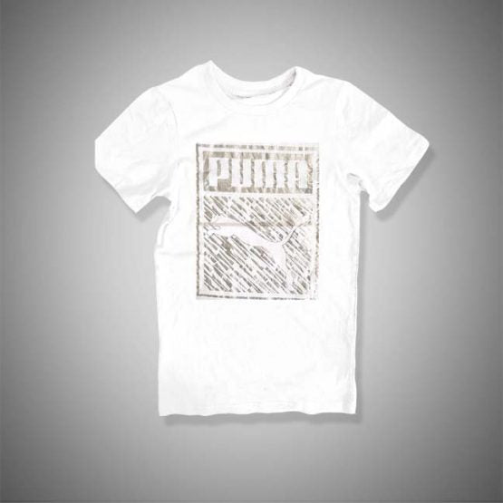 BOY'S SILVER GRAPHIC TEE(8-20YRS)| PUMA