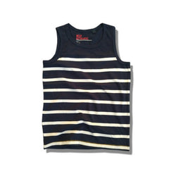 BOY'S SUMMER TEE BY NEXT- NAVY/WHITE (3-15)YRS