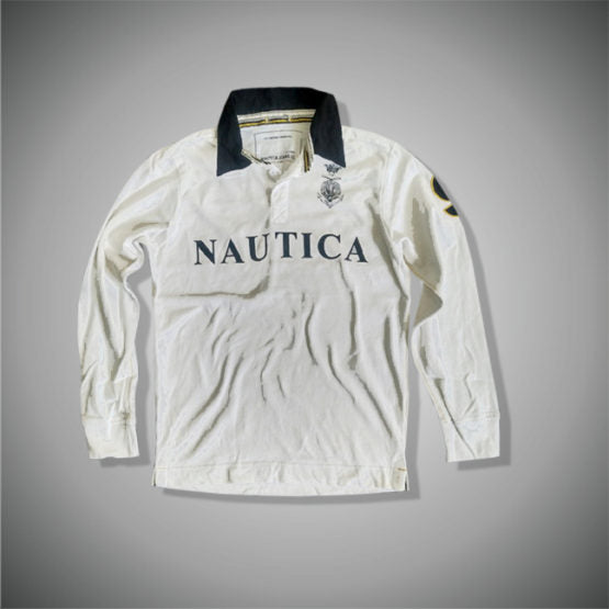 CLASSIC FIT LONG SLEEVE POLO SHIRT|NAUTICA