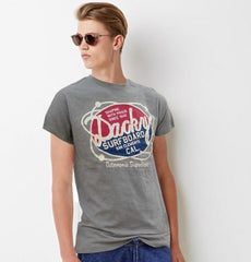 DACKY SURFBOARD PRINT T-SHIRT IN 100% COTTON BY OVS (ITALIAN BRAND)