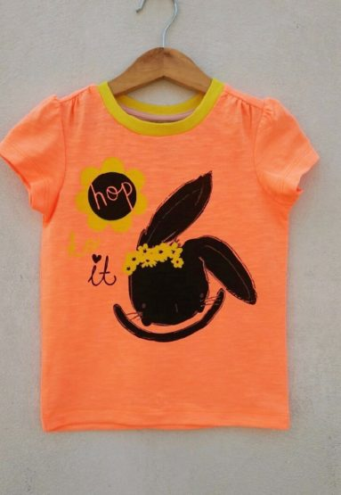 GIRLS HOP TO IT TEE BY TU (2 &3 YRS )