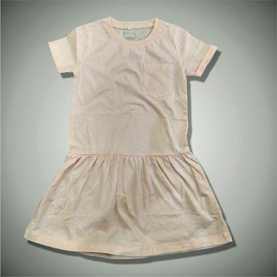 GIRLS PINK FROCK BY NAME IT (1-12)YRS