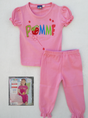 GIRLS POMME 2-PCS SET BY LUPILU (12M-24M)